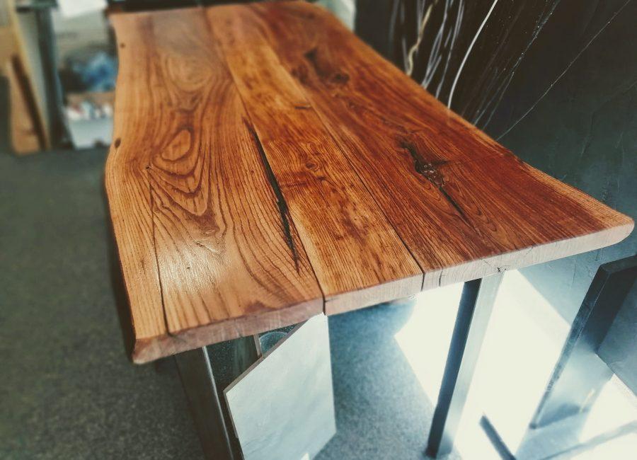 Tavoli legno/resina                  di Elle resine